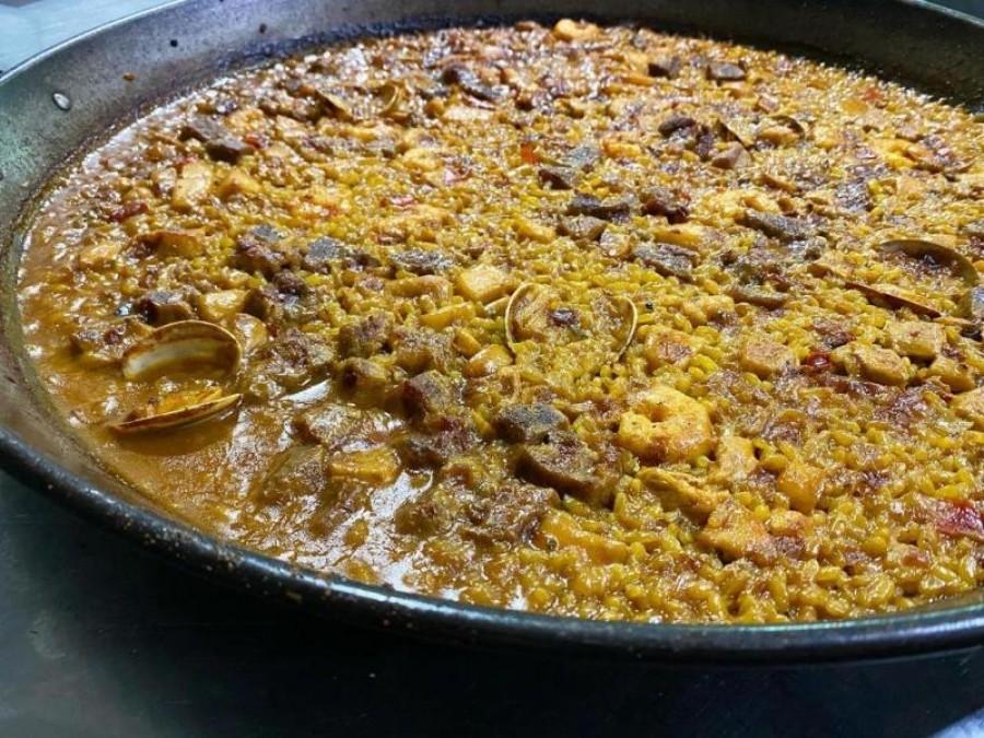Paella mixta*