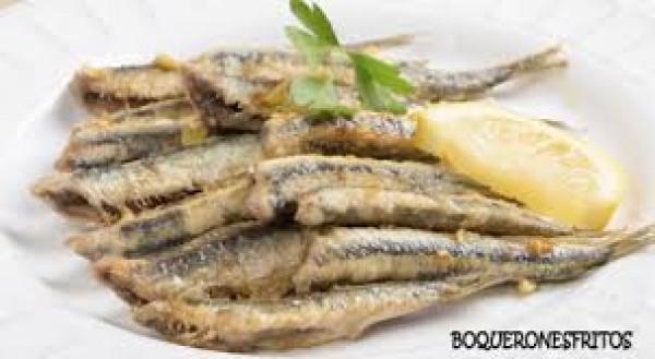 Lemon anchovies
